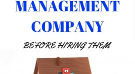 Five Considerations of Hiring Property Managers