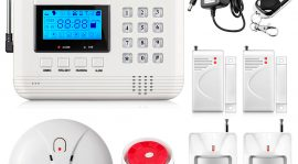 Combating Theft With Wireless Auto-Dial Home Security
