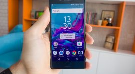 The Futuristic Look Of The Sony Xperia S