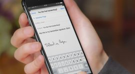 Changing Businesses through Using Electronic Signatures in Mobile Devices