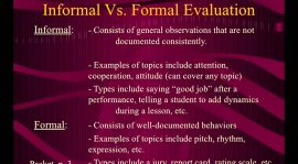 Formal Versus Informal Education